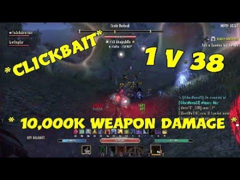 Unkillable Stamblade Comeback 1vX 2vX Heavy Cancer Build - смотреть