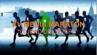 preview picture of video 'XV Media Maratón de Getafe 2014'