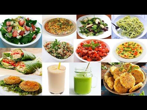 El menú preparado equilibrado para el adelgazamiento