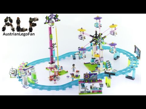 Vidéo LEGO Friends 41130 : Les montagnes russes du parc d'attractions