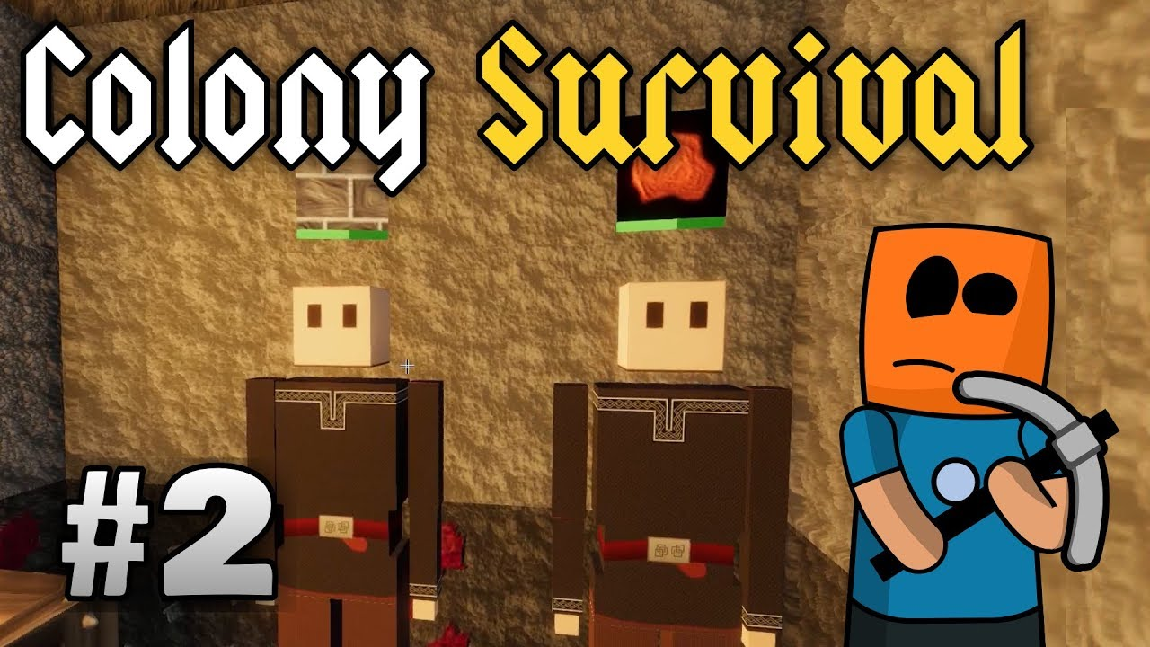 Colony Survival ep2 | Mining Copper