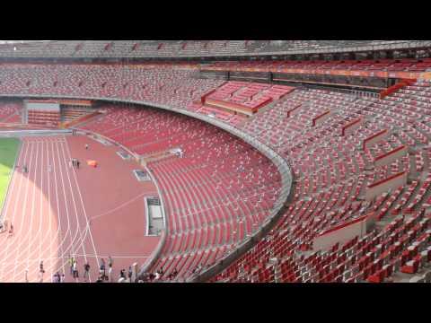 Олимпийский стадион Птичье гнездо, Пекин