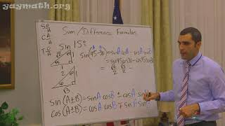 Trigonometry – Sum And Difference Of Angles Identities