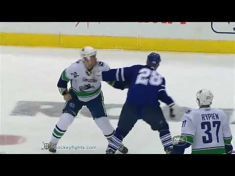 Colton Orr vs. Darcy Hordichuk
