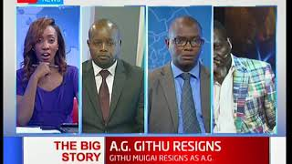 The Big Story: Githu Muigai becomes first Kenyan A.G to resign