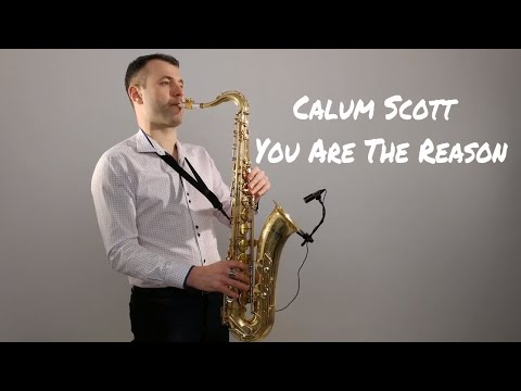 Calum Scott - You Are The Reason [Saxophone Cover] by Juozas Kuraitis