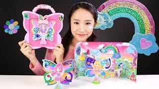 캐리의 시크릿아트 트윙클스티커 페어리 스튜디오 장난감 요정 만들기 놀이  CarrieAndToys