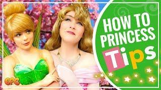 TOP FIVE Tips From Disneyland Princesses