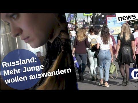 Russland: Mehr Junge wollen auswandern [Video]