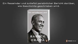 """Buchtrailer zu Barack Obama """"Ein verheißenes Land"""", erschienen im Penguin Verlag"""