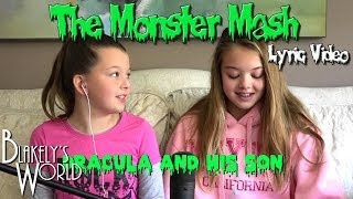 Monster Mash Lyric Video (Cover By Blakely And Whitney Bjerken)