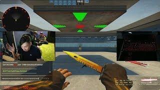 КАК НАУЧИТЬСЯ СТРЕЛЯТЬ ТЕППИНГОМ CS:GO (AK-47)