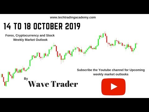 Cryptocurrency, Forex and Stock Webinar and Weekly Market Outlook from 14 to 18 October  2019