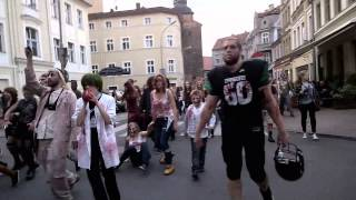 preview picture of video 'Zombie Walk, Zielona Góra, 13.09.2014'
