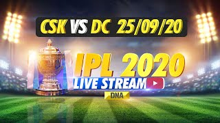 IPL 2020 LIVE: Chennai Super Kings VS Delhi Capitals | DNA - Download this Video in MP3, M4A, WEBM, MP4, 3GP