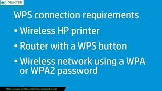 Setup WPS Pin on HP Printer - Connect HP Printer to a Wireless | Toll Free 1-800-970–7706 Call Now!!