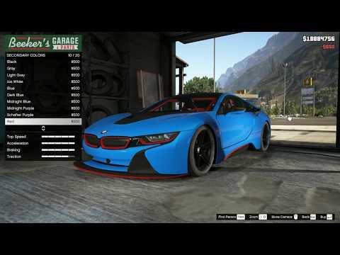 Gta 5 Lefix Simple Fuel Mod And Bmw I8 Baron Rider Video