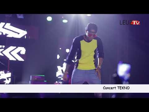 Revivez le show de Tekno au Monument de la Renaissance