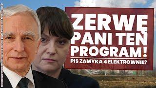 PiS zamyka 4 elektrownie?! TV republika nie wyemitowała niewygodnego dla PiS programu!