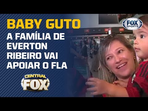 BABY GUTO RUMO A LIMA! A família de Everton Ribeiro vai apoiar o Flamengo na final da Libertadores