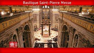 Pape François -Basilique Saint-Pierre - Messe clôture Assemblée du Synode des évêques  2018-10-28