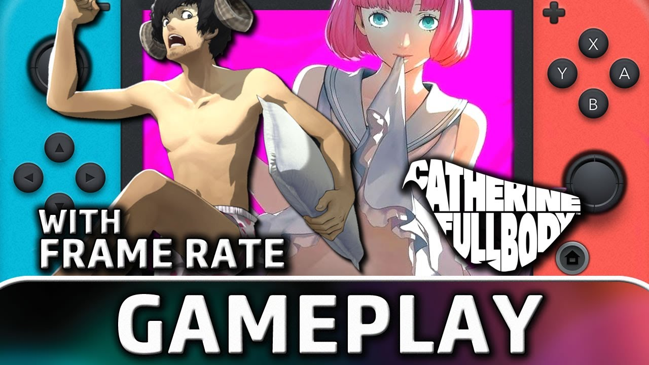 Catherine: Full Body | Nintendo Switch Gameplay and Frame Rate