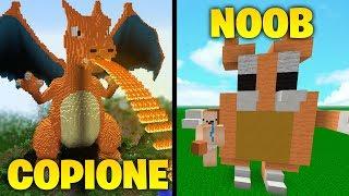 COPIONE VS NOOB!! - Se COPI meglio VINCI - Minecraft ITA