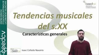 Tendencias Musicales Del S.xx 1ªparte