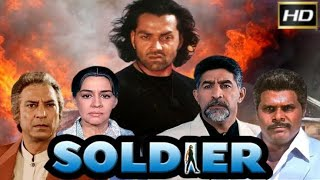 Soldier Full Movie Best Facts and Story | Bobby Deol | Preity Zinta | Johnny Lever | Suresh Oberoi