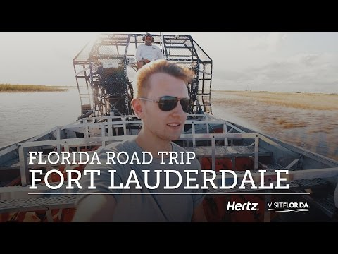 Video What to do in FORT LAUDERDALE, FLORIDA  — Travel Vlog
