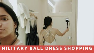 COMING SHOPPING WITH ME FOR MY MILITARY BALL DRESS!! | WINDSOR