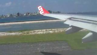 preview picture of video 'Abflug Start Malé International Airport Malediven mit LTU A330-200'