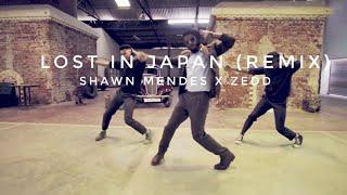 LOST IN JAPAN (remix) || SHAWN MENDES X ZEDD || URBAN CORE CHOREOGRAPHY || NEW DANCE VIDEO || RANCHI