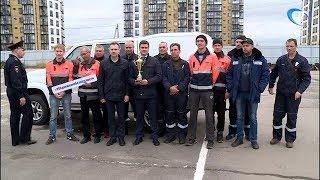 Сотрудники автопарка «Ростелекома» сразились на звание «лучшего водителя»