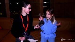 Интервью c Данэлией Тулешевой на Детском Евровидении 2017