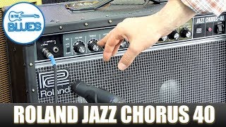 Roland Jazz Chorus 40 2x10 Guitar Amplifier Review (40th Anniversary)