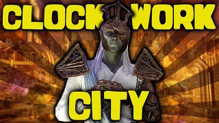 The GREATEST City Ever Created - The Clockwork City - Elder Scrolls Lore