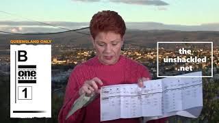 Pauline Hanson- How to Vote