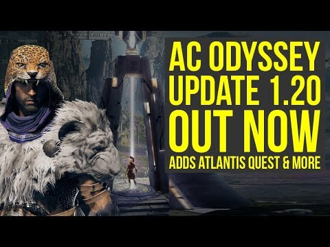 Assassin's Creed Odyssey Update 1.20 OUT NOW - Adds New Quest, Major Feature & More (AC Odyssey 1.20