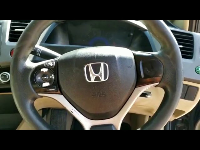 Honda Civic VTi Prosmatec 1.8 i-VTEC 2013 Video