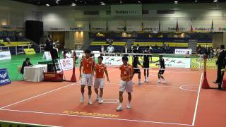 Sepak Takraw King's Cup 2012 - Malaysia vs. Korea - 3rd Regu (Team Event Semi Final)