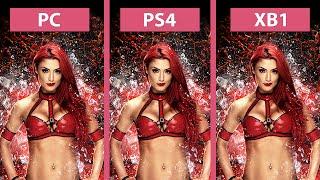 WWE 2K16 – PC vs. PS4 vs. Xbox One Graphics Comparison