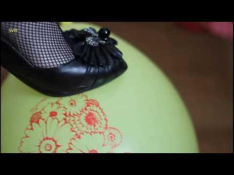 heels vs baloon @ SVMfeetSVM