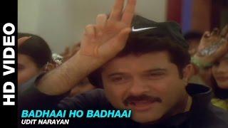 Badhaai Ho Badhaai - Title Track   Udit Narayan   Anil Kapoor, Shilpa Shetty & Keerti Reddy