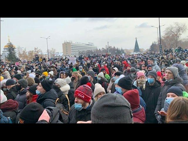 В Иркутске прошли несанкционированные митинги