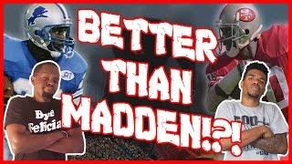 BETTER THAN MADDEN!?! - All Pro Football 2k8    #ThrowbackThursday ft. Juice