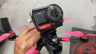 Testing the Insta360 One R fpv