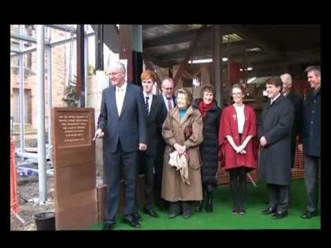 Foundation Stone Laying Ceremony for Bolton School's new Sixth Form Centre