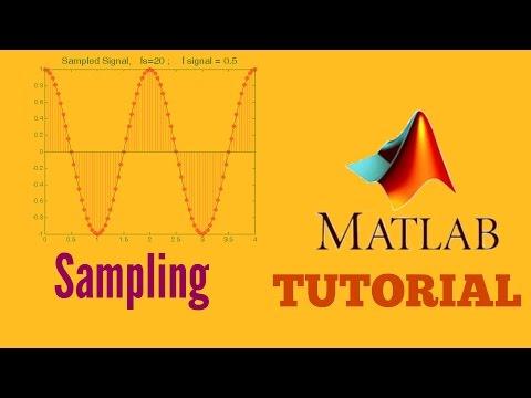 Matlab tutorial – Sampling a Signal