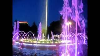 Поющие фонтаны #Анапа